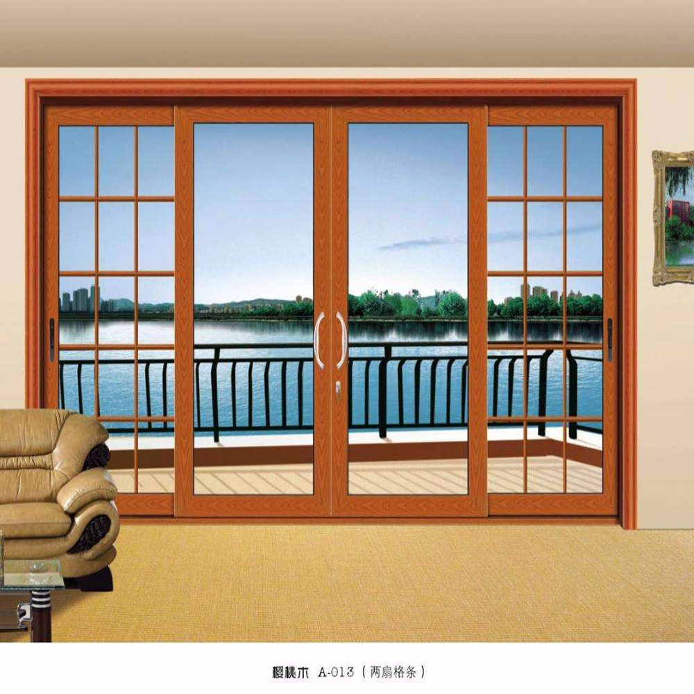 China Home Used Aluminum Frame Balcony Sliding Glass Windows and ...