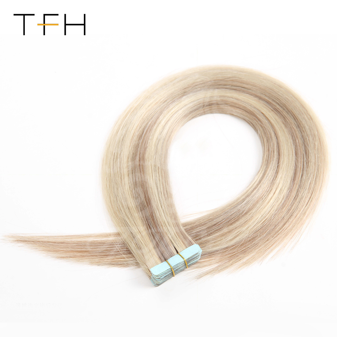 China Indian Double Tape In Human Hair Extensions Piano Color 18
