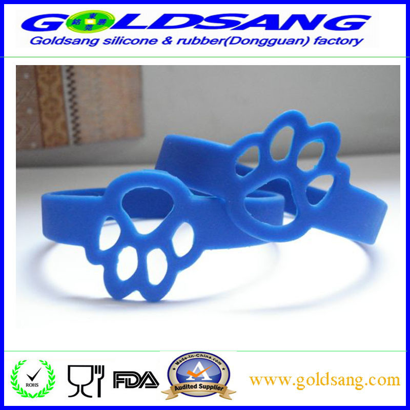 Professional Whoiesale Colorful Silicone Bracelet Wristband pictures & photos