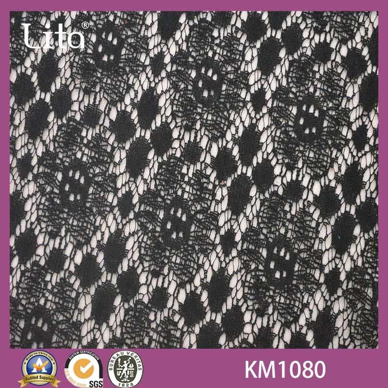 [Hot Item] Lita Km1080 Indian Cotton Lace Fabric Market in Dubai