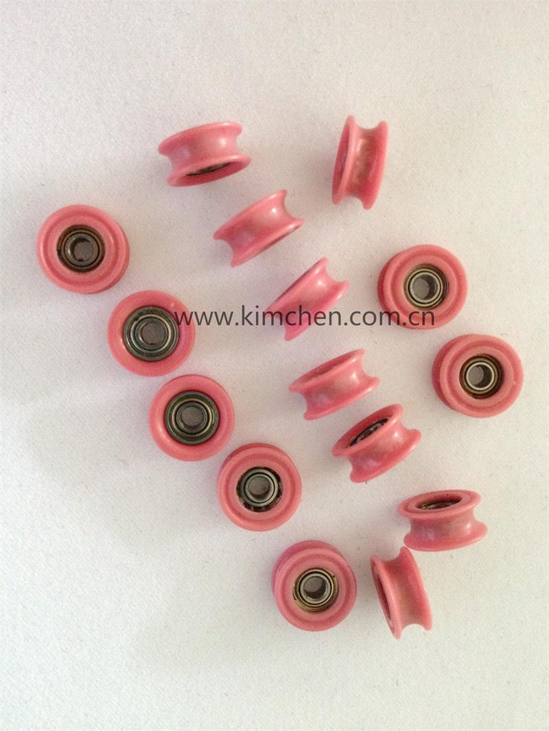 Solid Ceramic Pulley (KC108-C05) Od 40mm/Ceramic Guide Roller (ceramic roller bearing)