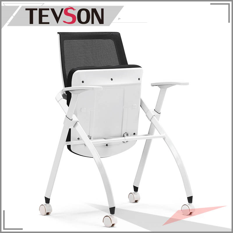 Mesh Folding Chair for Office, Meeting Room and Training Class pictures & photos