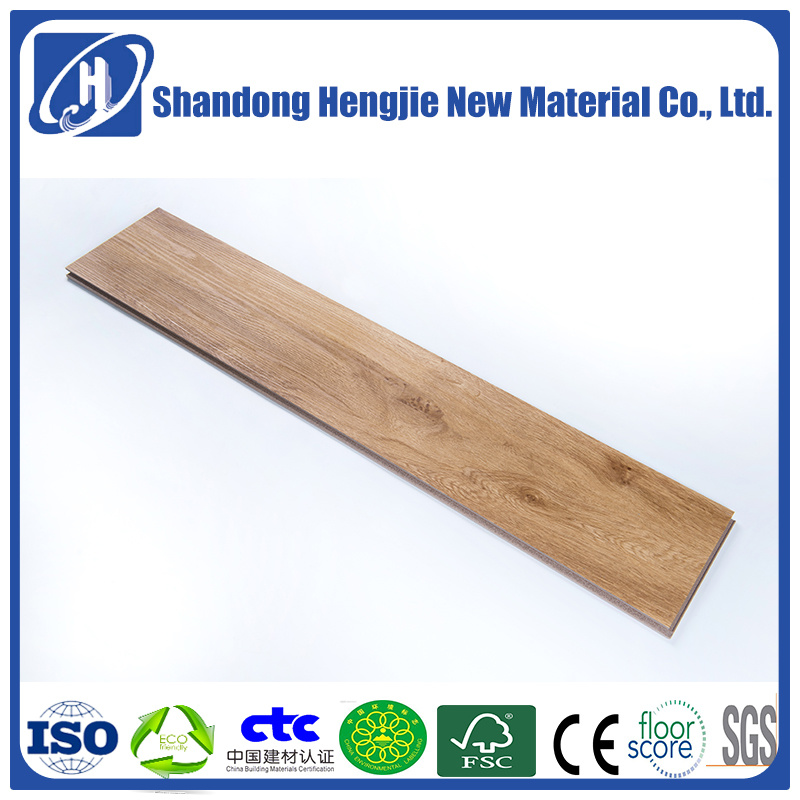 China Factory Direct Fireproof Easy Installation Eco Friendly Wpc Vinyl Flooring Glue Free Install Whole