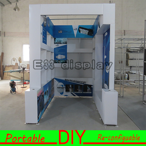 Trade Stands For : China portable diy aluminum banner stands for trade show china