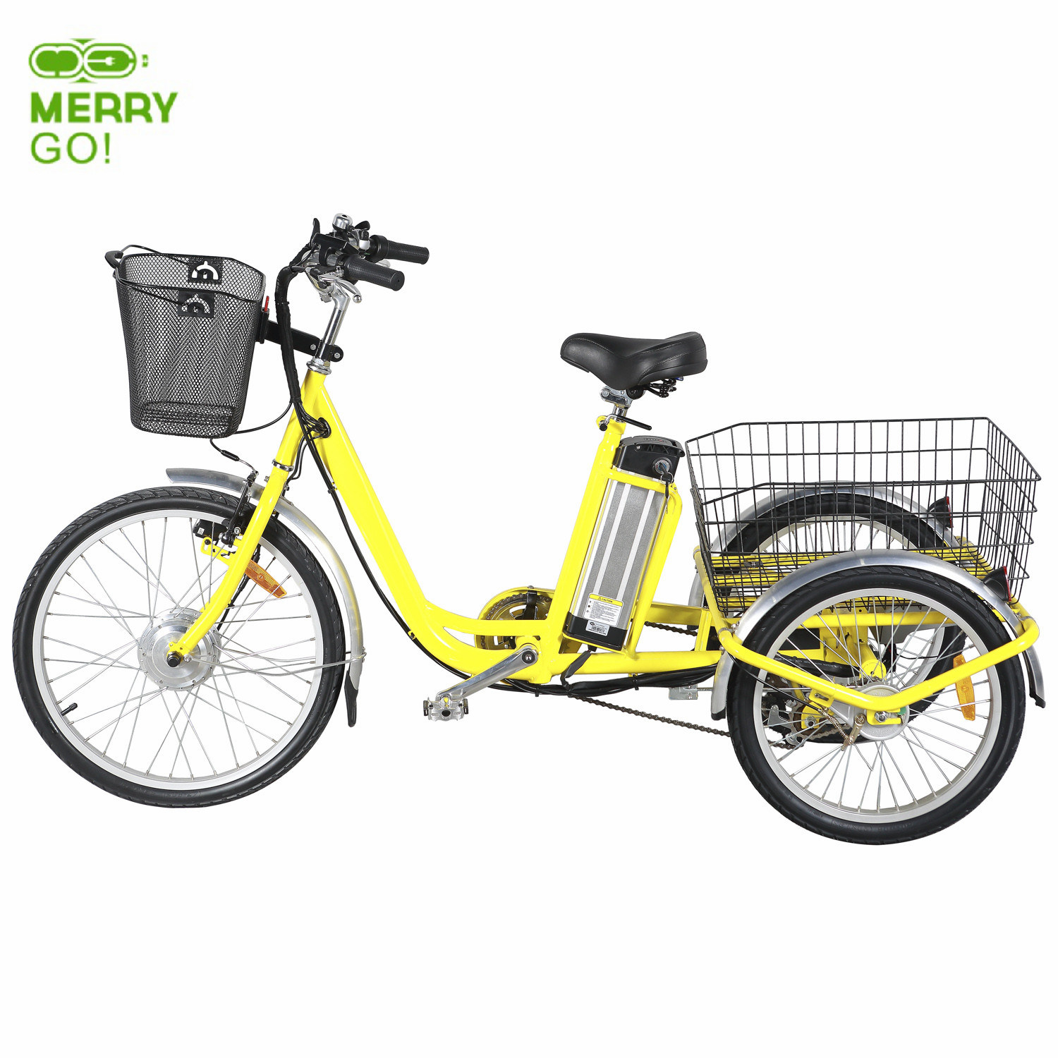 China 36V 250W Big Wheel Electric Tricycle Trike For Sale