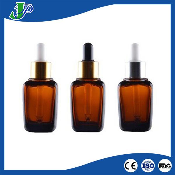 5b9f4142cbf0 [Hot Item] Custom Small Square Amber Glass Dropper Bottle 30ml Vape Liquid  Bottle Glass for Essential Oil Perfume Print
