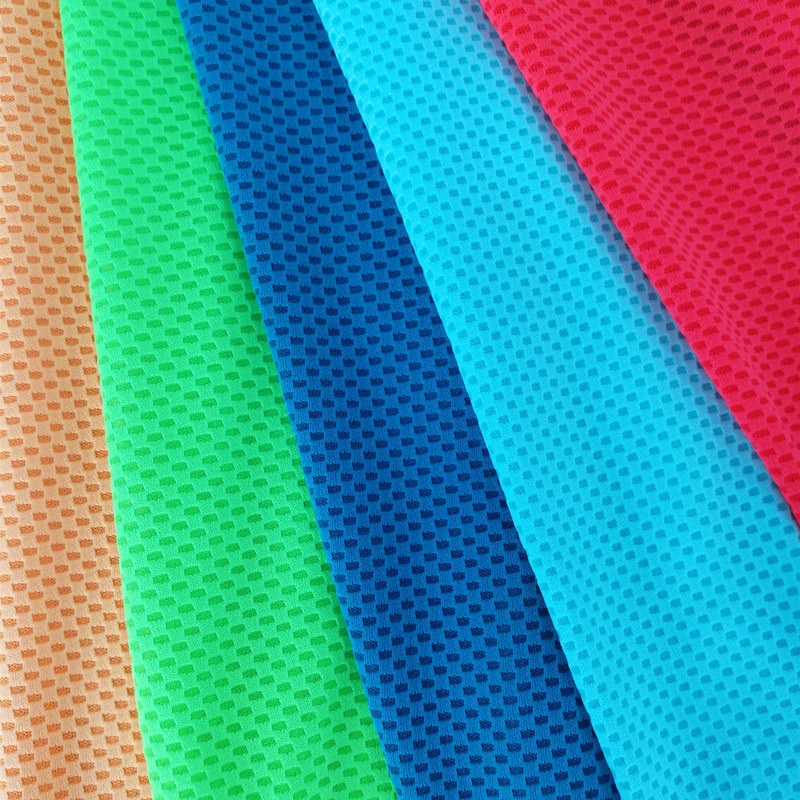 Wicking Interlock Polyester Accessories Mesh Garment Knitting Fabric pictures & photos