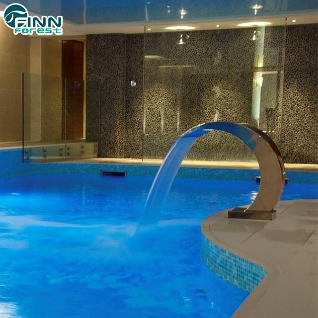 [Hot Item] Outdoor Swimming Pool Stainless Steel Impactor Waterfall