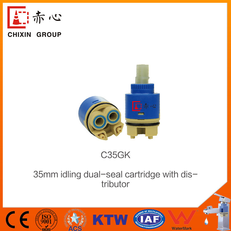 40mm Valve Core Water Saving Cartridge with Steps pictures & photos