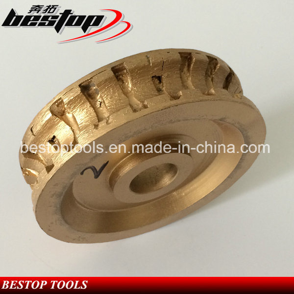 D150mm Diamond Segmented Profile Wheel for Granite Stone