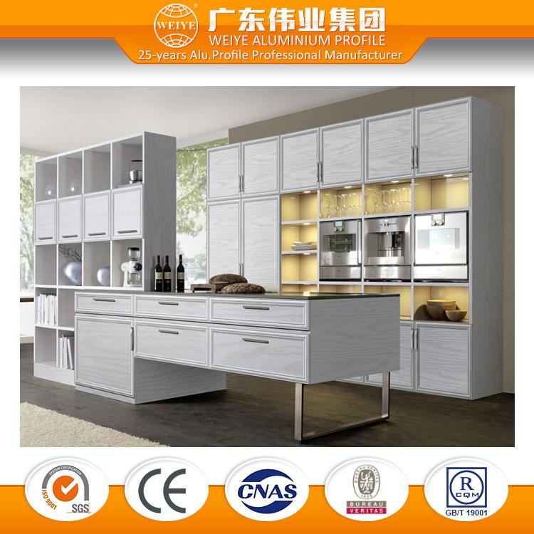 China Modern Design Aluminium Alloy Made Kitchen Cabinet Set China