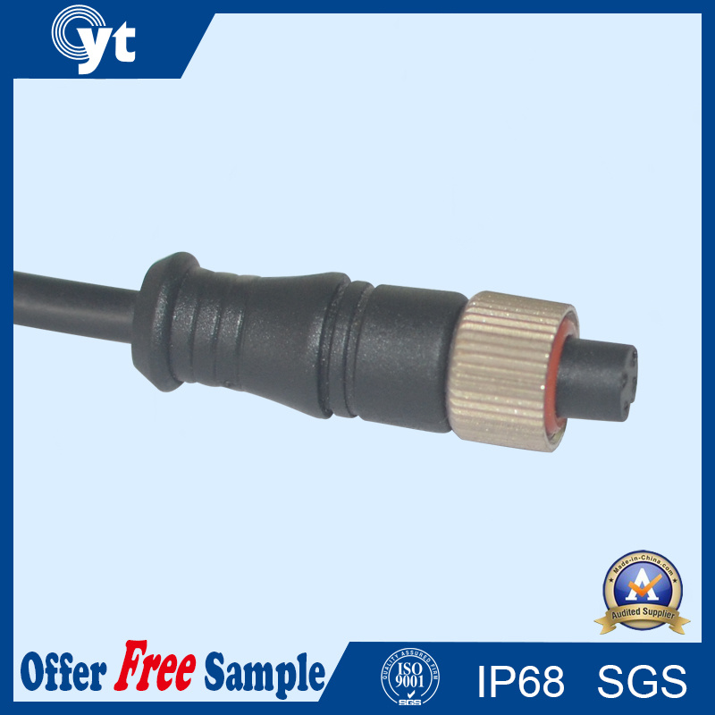 4 Pin Waterproof Connector Cable for LED Street Lighting