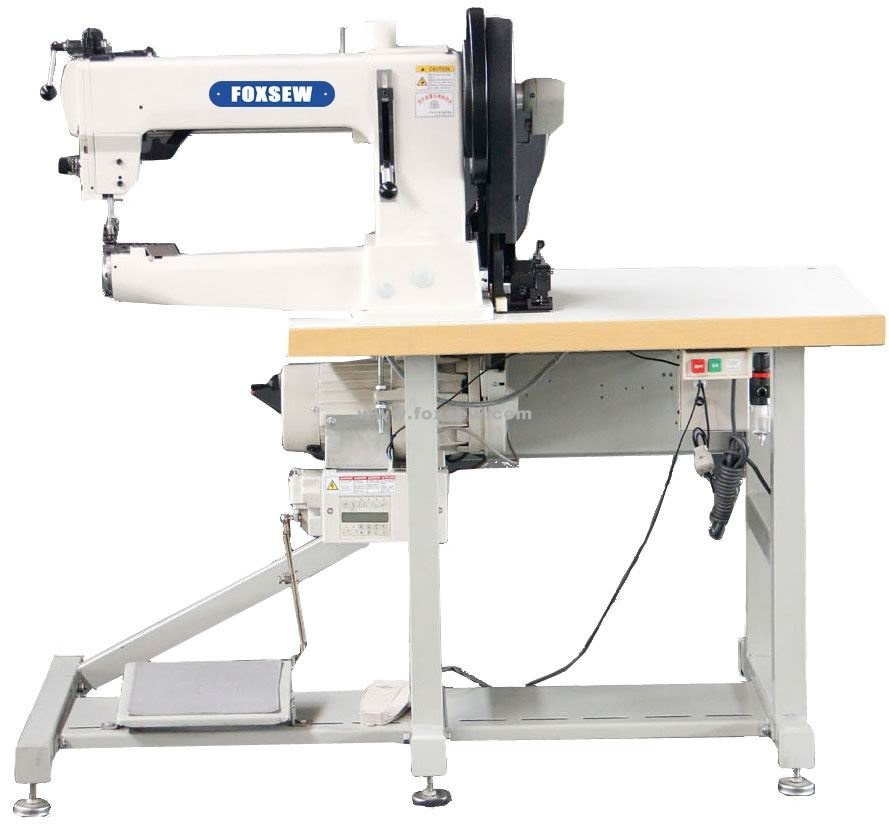 Upholstery Sewing Machine >> Hot Item Cylinder Arm Extra Heavy Duty Walking Foot Upholstery Sewing Machine For Leather And Webbings
