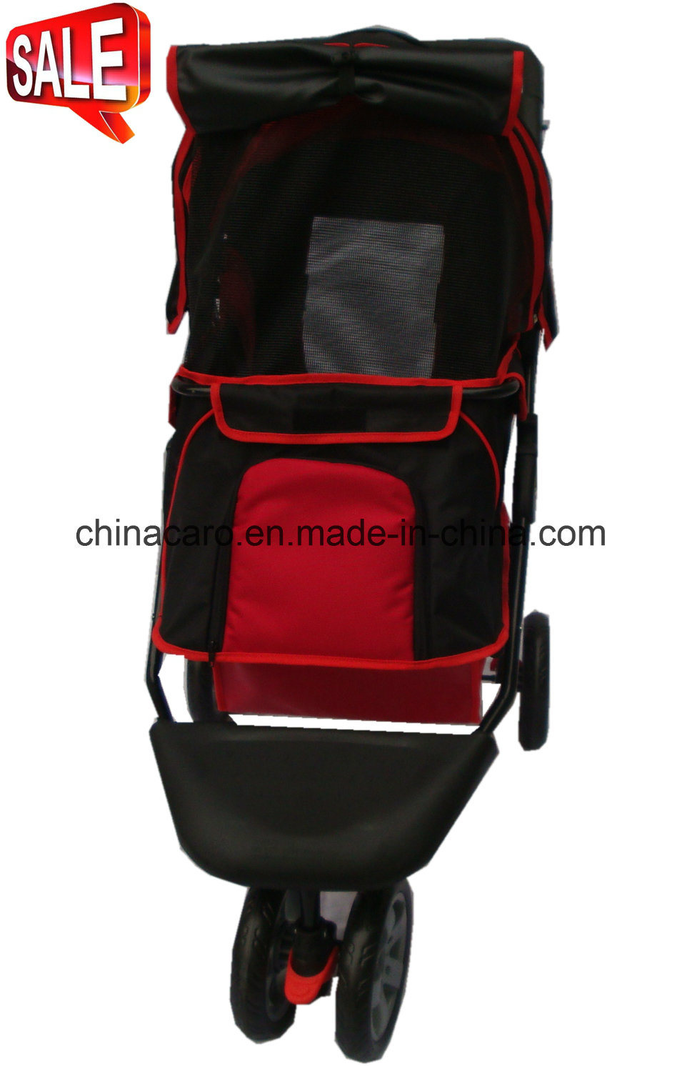 High Quality Pet Products 3-Wheels Pet Stroller Bb-PS02 pictures & photos