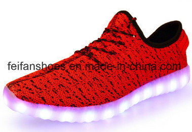 Latest OEM Children Flash LED Shoes Sport Shoes (FFLS0208-02) pictures & photos