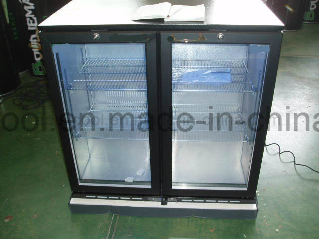 Two Doors Under Bar Cooler Commercial Refrigerator, Back Bar Cooler pictures & photos