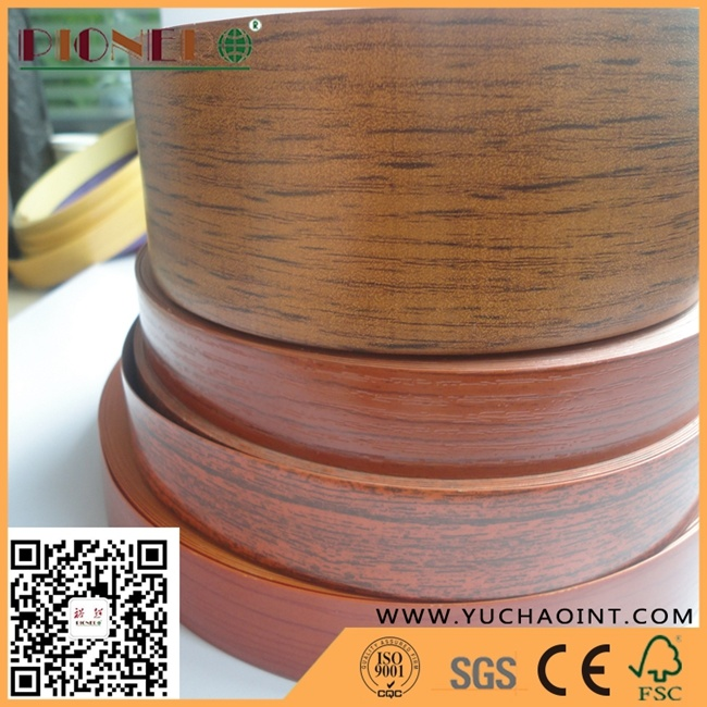 [Hot Item] Wood Grain PVC Edge Banding for Furniture Fitting