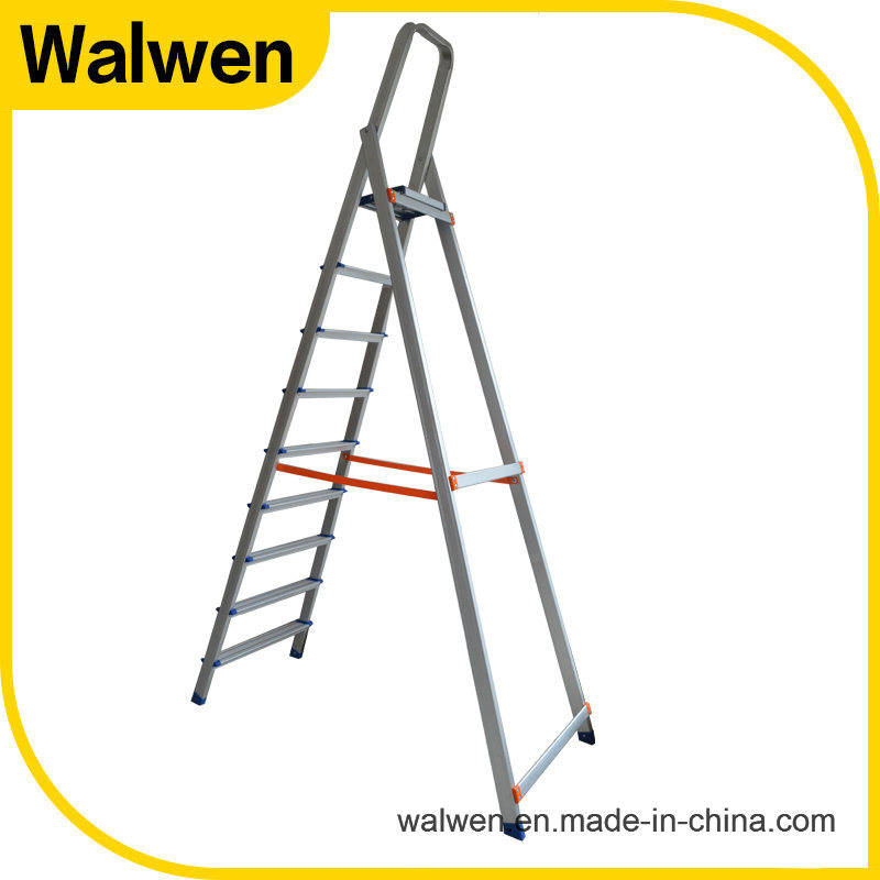 High Strength Domestic Flexible Folding Household Aluminum Ladder