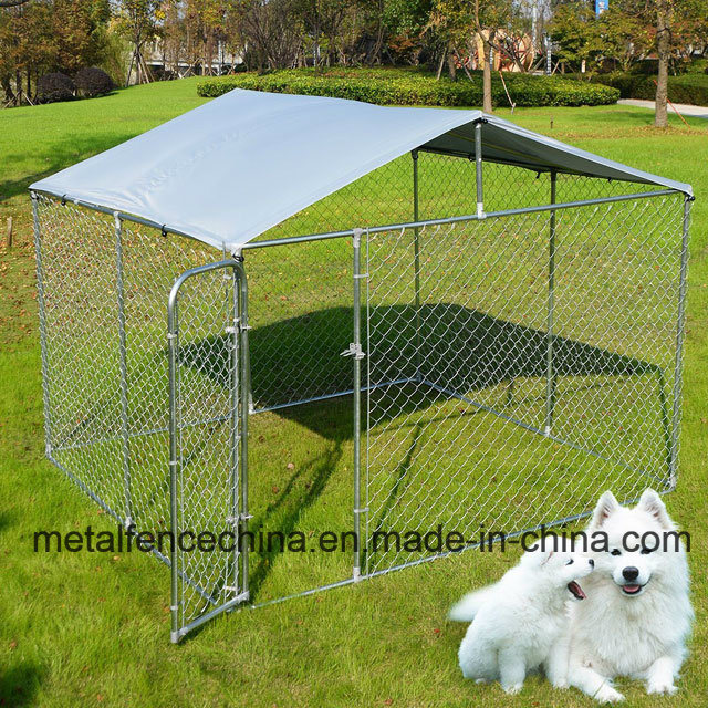 Chain Link Outdoor Dog Cage Run Kennel House Pen