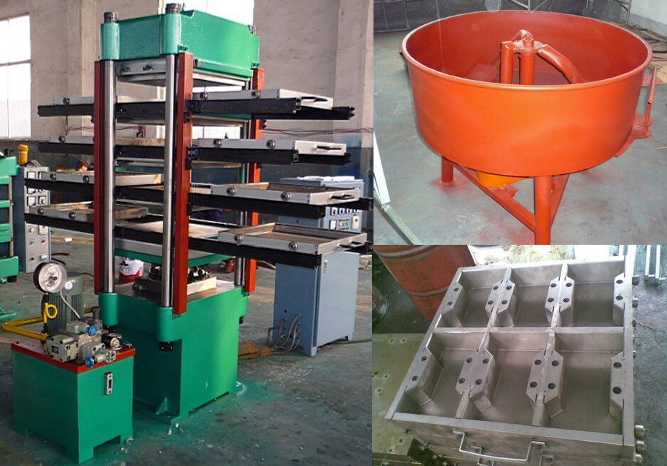 China All Sorts Of Rubber Floor Tile Making Machine Rubber Tiles
