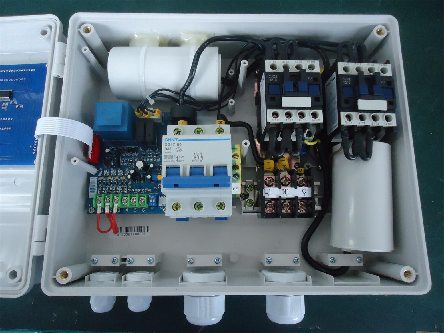Control Panel Start Run Capacitor Wiring Best Secret Diagram Phase 3 Air Pressor Single Power Ac