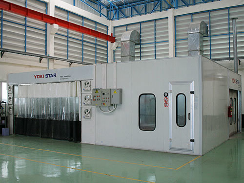 China Used Car Spray Booth Mobile Paint Booth for Sale ...
