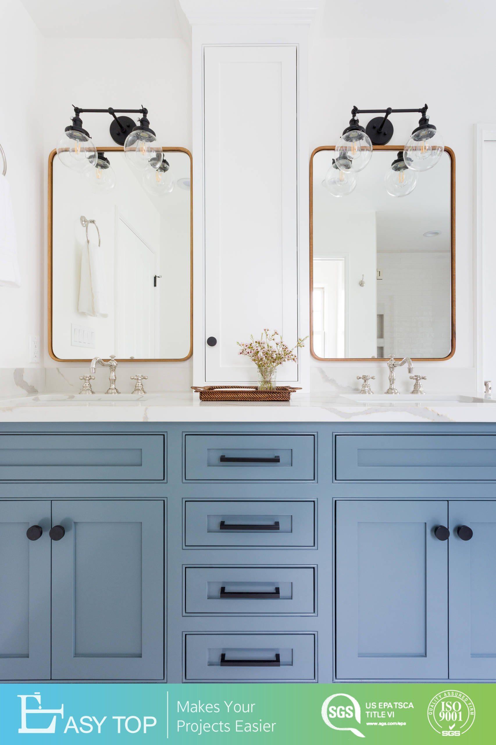 China Blue Pvc Mdf Board Raised Panel Cabinets Design Modern Bathroom Cabinet China Bathroom Cabinet Vanity Bathroom Cabinet Furniture