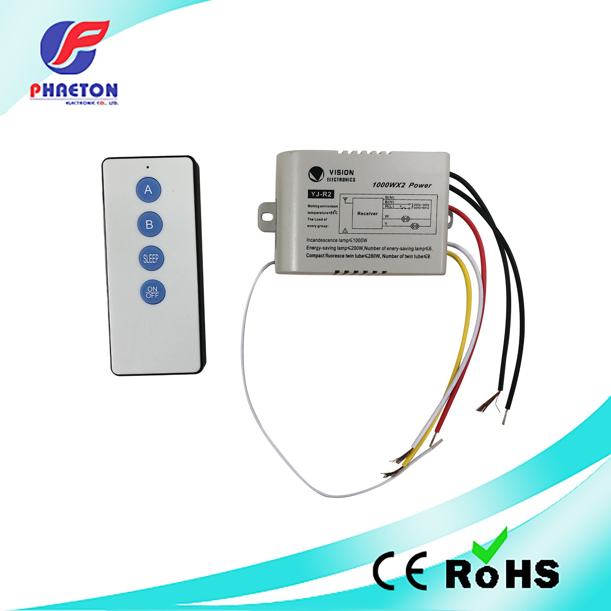 China Home Use Universal Fan And Light