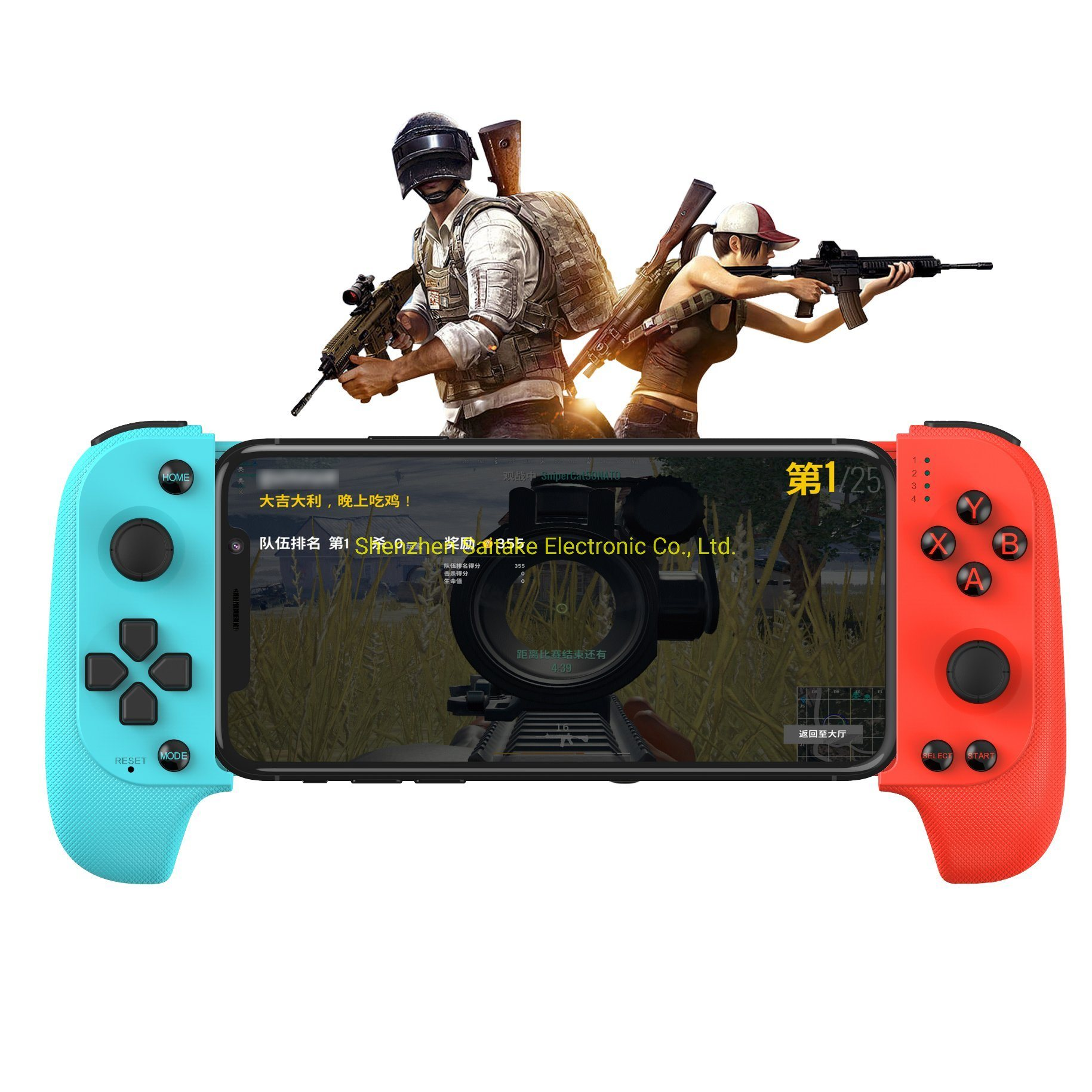 [Hot Item] for Fortnite Pubg Mobile Controller Gamepad Ios Android Game  Controller Keyset Function Wireless Gamepad Bluetooth Gamepad