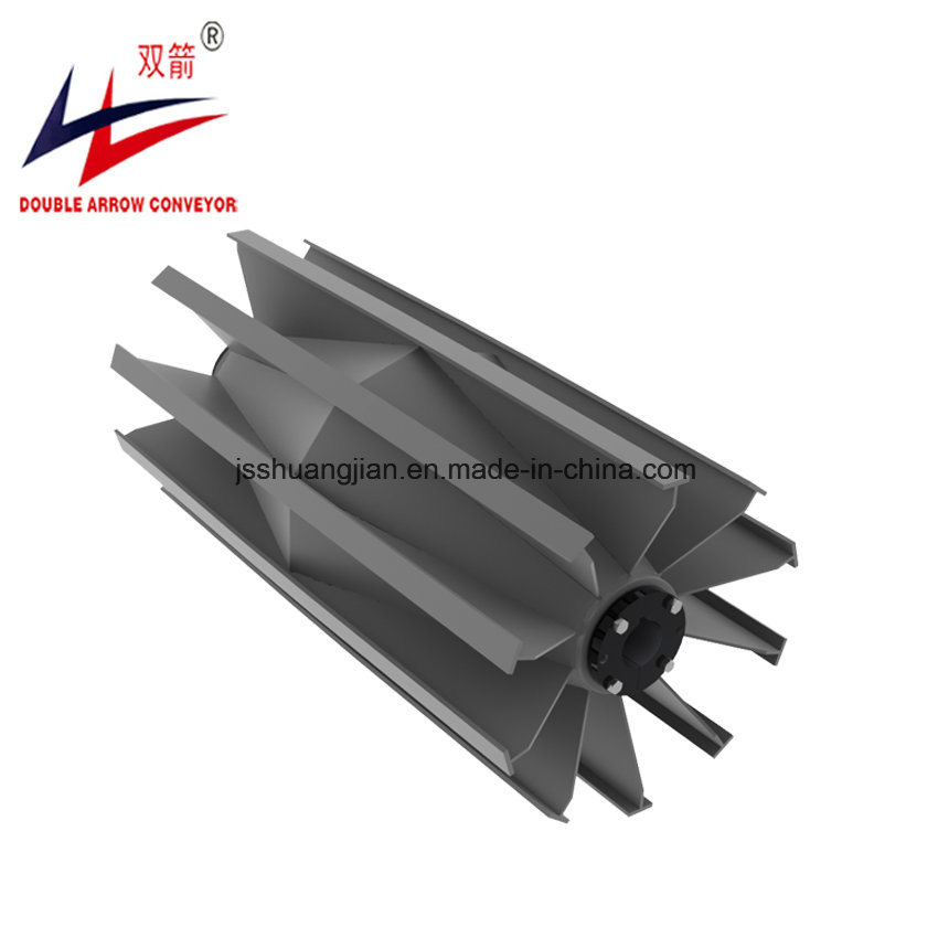 [Hot Item] Self-Cleaning Heavy Duty Conveyor Tail Wing Pulley