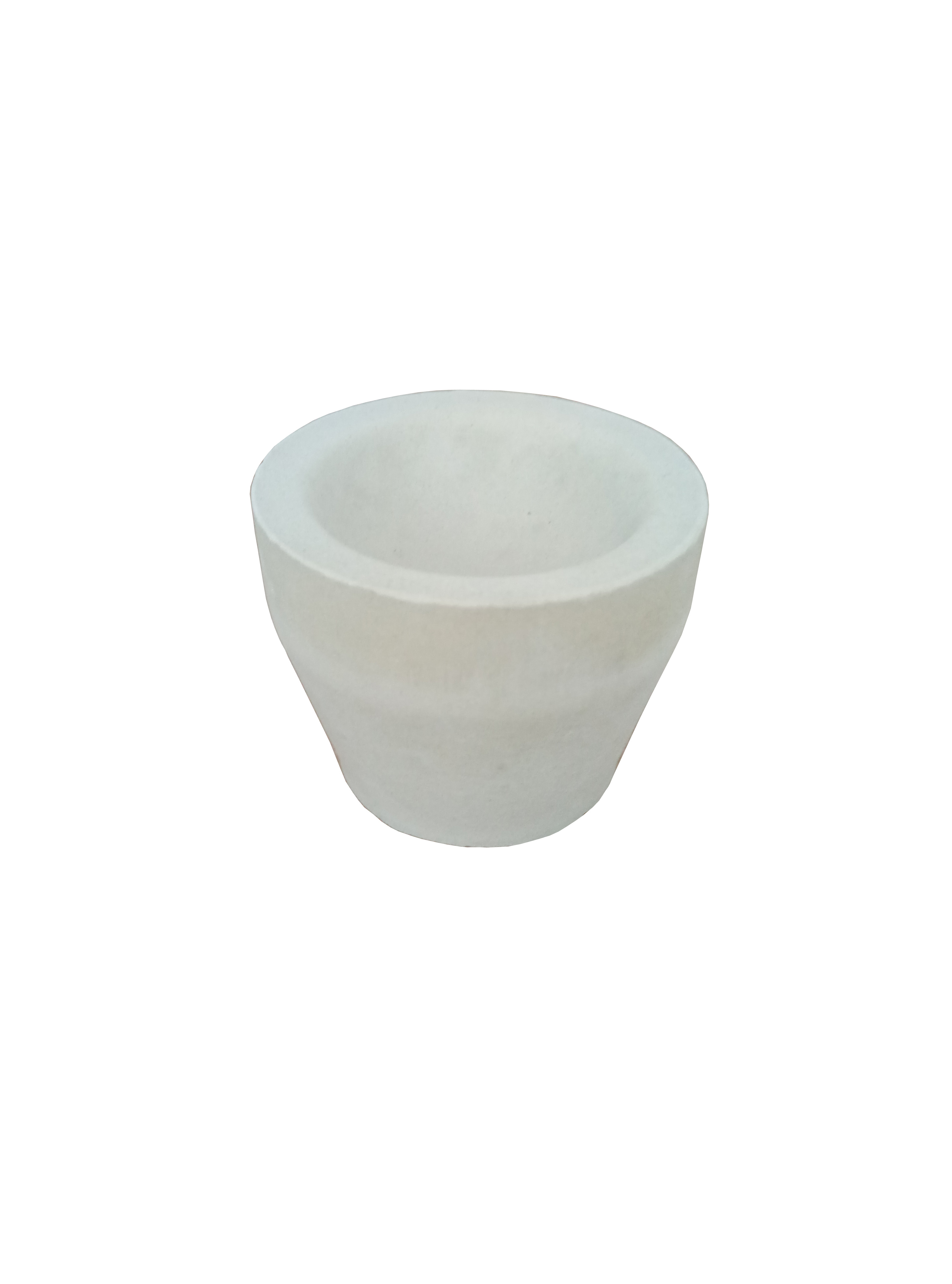 [Hot Item] Refractory Fire Assay Cement/Magnisia/Bone Ash Cupel Crucible