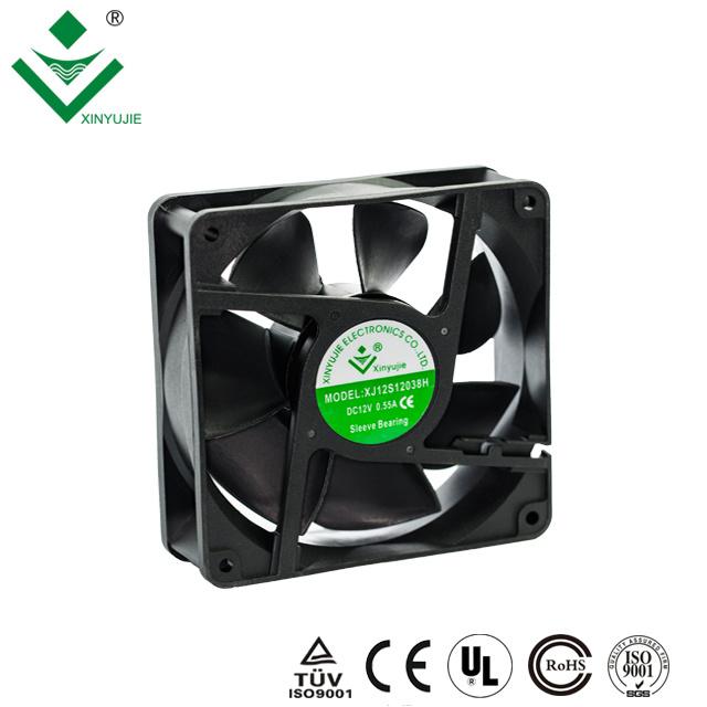 24V sleeve Bearing 120mm  Computer Case Fan 120x120x38mm Exhaust Industry Fan