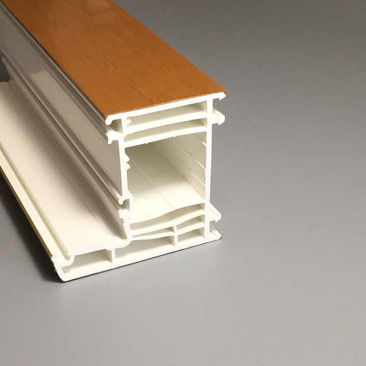 China PVC Door Frame/Plastic Profiles for Windows Photos & Pictures ...