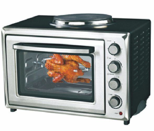 Toaster Oven with Convention Function and Non-Stick Coating