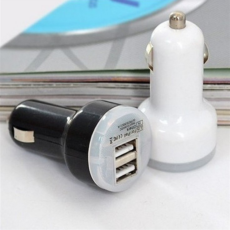 Pacifier Car Charger/Universal Double Car Charger for iPhone/Samsung/HCl pictures & photos