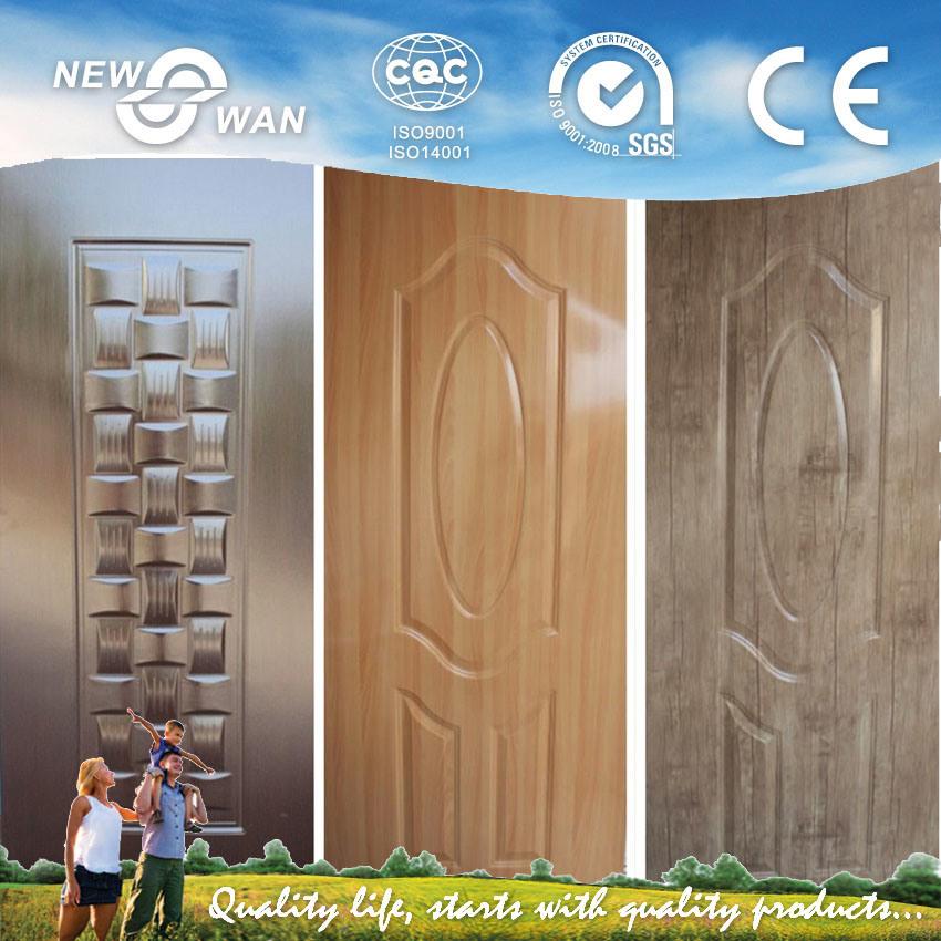 China Melamine Hdf Moulded Door Skin Used For Interior Door Nmd