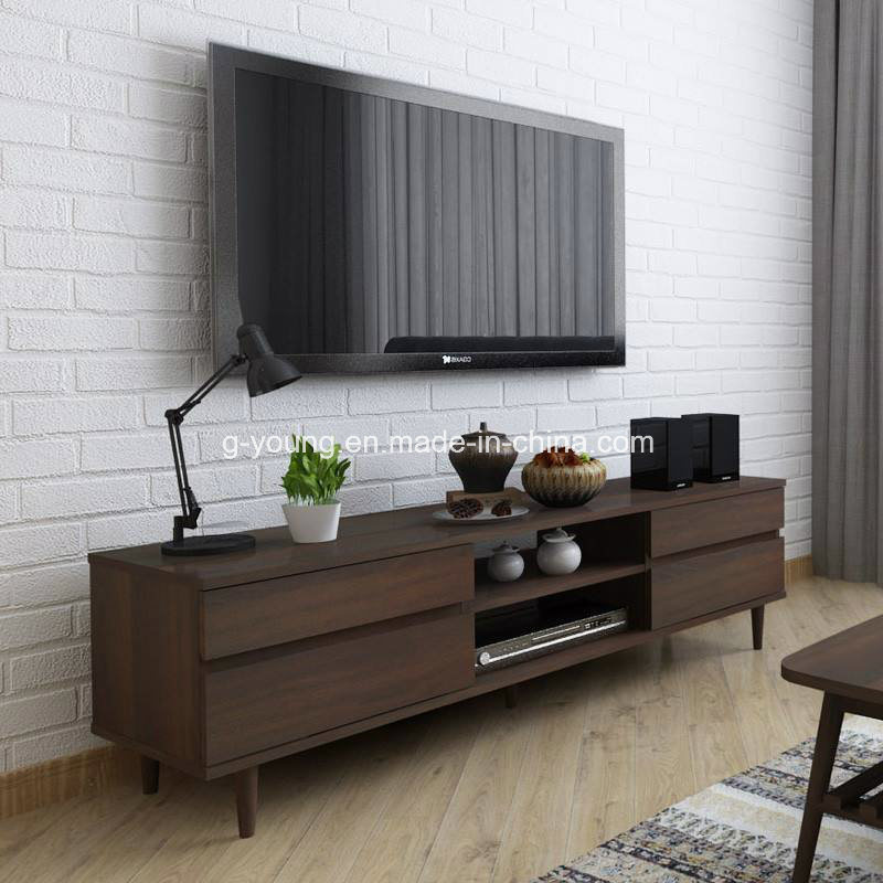 [Hot Item] Modern Home Living Room Furniture TV Bench TV Stand TV Shelf