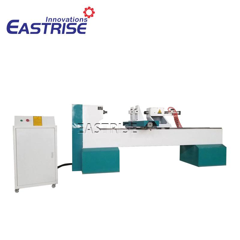 China Single Tool Holder Cnc Wood Turning Lathe Machine Photos