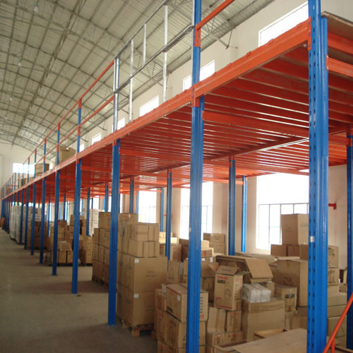 Steel Structure Garret Heavy Duty Storage Rack pictures & photos