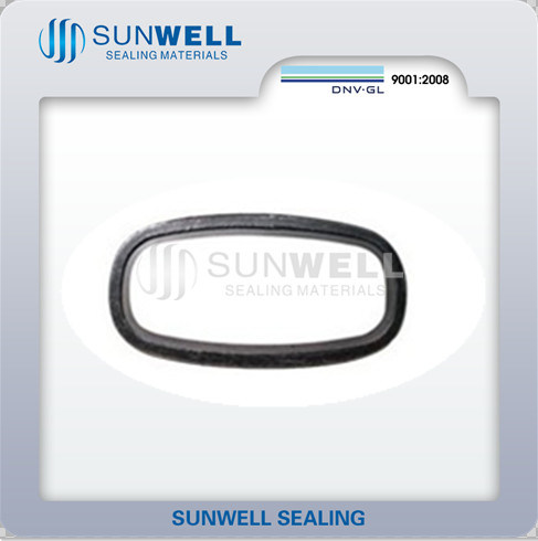 China Oval Spiral Wound Gasket 316L Graphite - China Oval