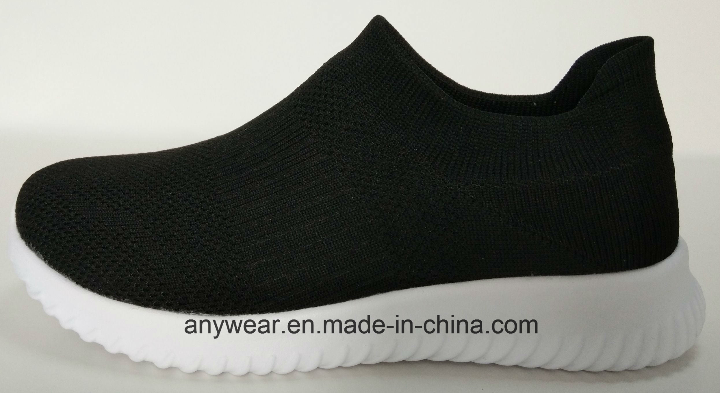 China Ladies Gym Sports Dress Footwear Flyknit Upper Women Sneaker Sock  Shoes (653) - China Shoes a137636a18