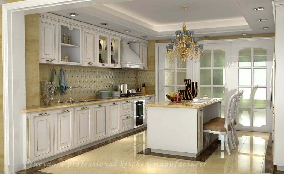 China White Ash Kitchen Door Solid Wood Kitchen Cabinet ...