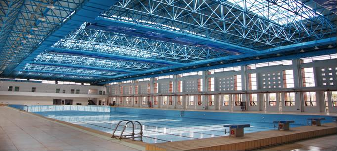 China Design Indoor Space Frame Swimming Pool Roofing - China ...