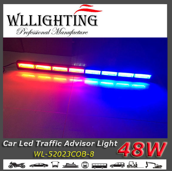 Red Blue LED Truck off Road Light Bar