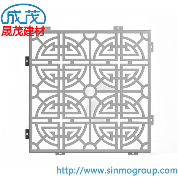 [Hot Item] Supply Aluminium Engraving Panel Curtain Wall