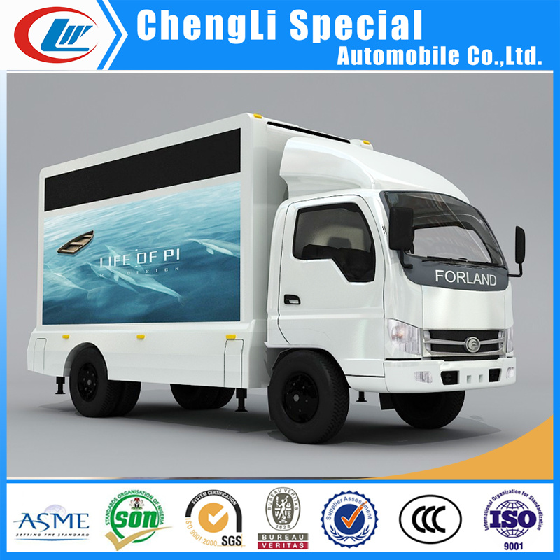 Jbc Mobile Screen Billboard LED Advertising Truck pictures & photos