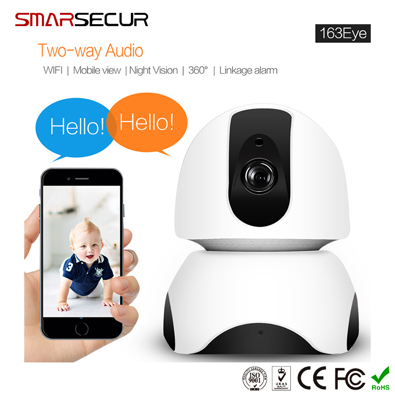 China 2MP 1080P IP WiFi Camera Mini APP Ios/Android for Home