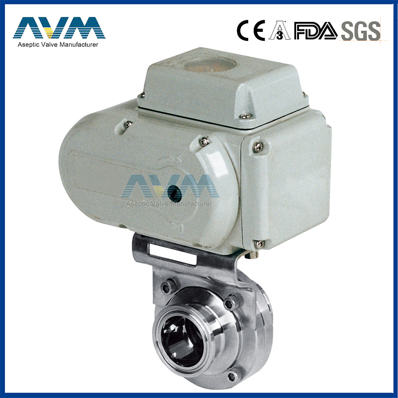 Stainless Steel Sanitary Hygienic Pneumatic Actuator Ball&Check&Butterfly Valve pictures & photos