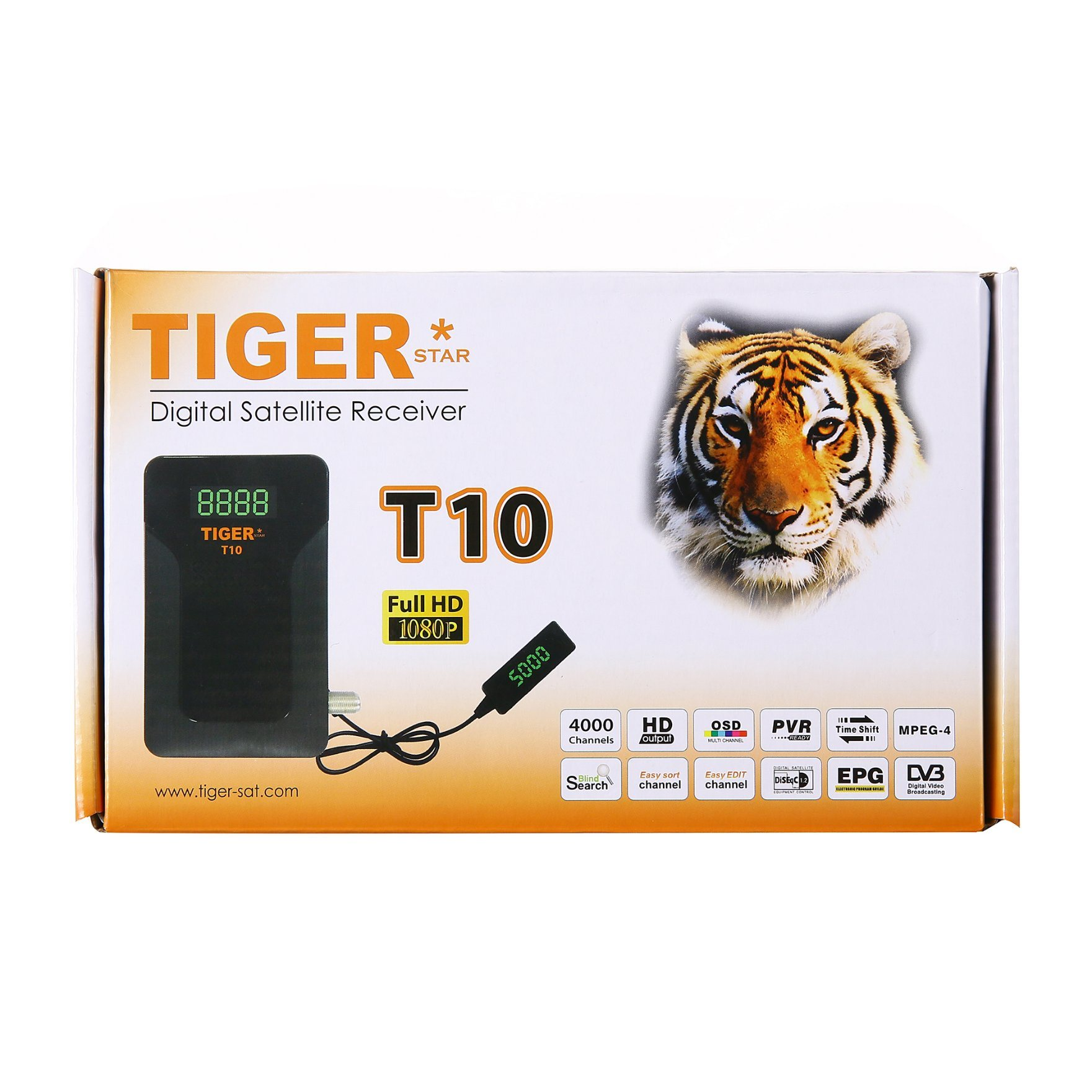Tiger Receiver Software