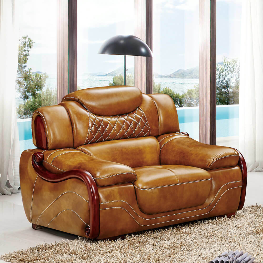 Home Furniture Leather Sofa A62